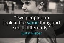 """Justin Bieber / """"Aviso: obra de arte preciosa, favor não tocar"""""""