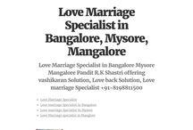 Love Marriage Specialist in Mysore
