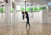 Low aerial hoop