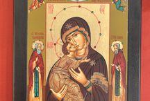 Byzantine Serigraph Icons