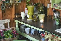 inside garden shed ideas / Shed