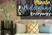 welcoming entry way