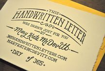 Handlettered Graphic Design
