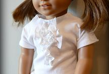 Doll Clothes Inspiration / Why spend money on clothes you can make yourself?  Your child will appreciate them even more!