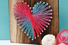 Valentines Crafts / DIY thoughtful Valentines Day gifts