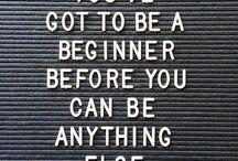 Inspiration For beginners