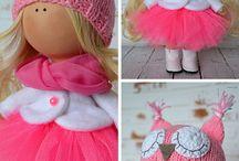 Růžová panenka