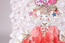 Haute Couture / Créez des tenues incroyables pour habiller les poupées d'Izumi Idoia !