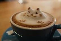 Kahveli Sanat / Coffee Art / Kahve ile yapılmış sanat görsellerini bu panoda görebilirsiniz.