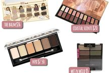 Beauty | Eye Palettes / All the makeup eye-shadow palettes the world has to offer! All brands drugstore and high-end.