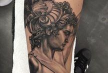 Tatuajes Φ RIDNEL SILVA Φ / Tatuajes realizados por el artista Ridnel Silva. Logia Barcelona.