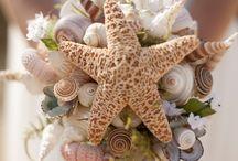 flowers ocean theme