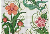 Cross stitch patterns / Cross stitch pattern I like to try someday  / by blueknitter Rising