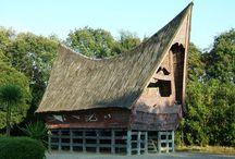 Indonesia tradisional house