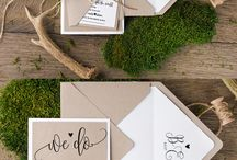 Wedding Rustic Invitation