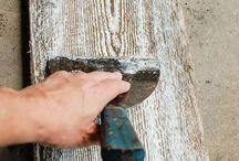 Acabados para madera