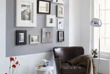 Képek a falon inspirációk / Lakberendezési ötletek üres falakhoz