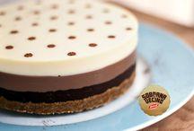 tarta de los tres chocolates.