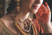 Antique gold Jewellery /  Indian Bridal jewellery