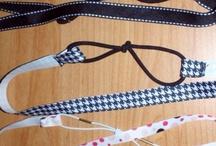 Sewing - Headbands, Scarfs, & Wraps / by Mirah Bradford