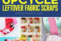 Projects from scrap fabric