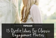 Engagement Photos / Getting married? Before the planning comes the engagement photos! Get some ideas for fun poses here.