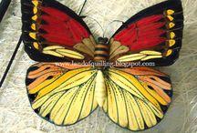 Butterfly Effekt quilling