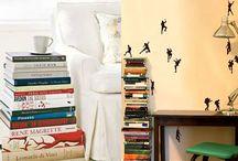 Ideias criativas para inserir os livros na decoração / Inspire-se