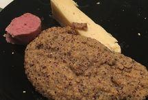 La salsiccia di castrato di Breno La formagella della valle e la polenta di mais spinato nero di valcamonica
