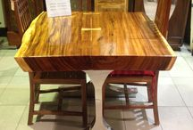 Live Edge Furniture / Mother Nature is the greatest artist in the world. Furniture or architecture with a natural look.