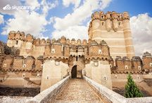 Beautiful Spanish Castles / Read more on these beautiful Spanish castles on our website! http://skysc.nr/TzJ1.  / by Skyscanner