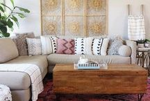 new bohemians style / eclectic vibes, chill style, fab interiors