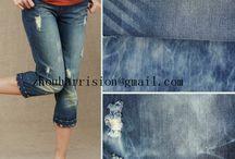 beautiful elastics denim jeans / supplier above all