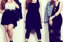 Fashion / Plus size fashion, moda, stylizacje