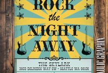 Rock the Night Away - holiday party