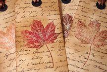 autumn bookmarks new ideas