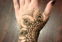 Tattoo material / Tattoo, design, art, artistic, doodle, zentangle, madala etc. I would ink this on my skin.