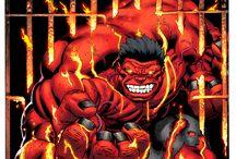 Hulk's (Red Hulk, She Hulk...)