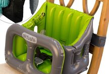 Airtushi is the Best Travel High Chair / Airtushi is an inflatable travel high chair - mega compact and so safe and soft!