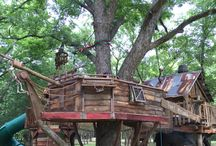 Custom Tree Houses / Custom tree houses, play sets, and more! Let us help you design one today at Tin Star Furniture! #makingmemories #yourownbackyard