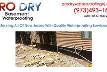 Basement Waterproofing Succasunna NJ