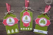 Sugar Cuts - Gift Tag Die / SugarPea Designs - Sugar Cuts - Gift Tag Die Inspiration