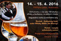 Pozvánky na akcie / Zaujímavé akcie organizované Slovenskou barmanskou asociáciou alebo jej partnermi