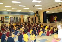 """Be Responsible, be safe, be respectful / performed for hundred of students today at an elementary school in Loxahatachee. We had FUN learning! I am now incorporating my new song """"Be Responsible"""" into every show. We are doing cool sign language moves that the children love doing with me. Here's a link to the music video """"Be Responsible"""" http://www.youtube.com/watch?v=JGQAp2PY8yY"""