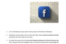 The Facebook protection