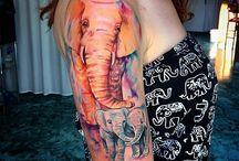 tatoo elefanti