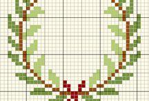 Christmas x stitch