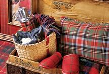 Plaids, Tartans and Checks / decorating with plaids, tartans and checks / by Sheri Deindoerfer