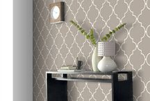 Wallpaper, decor, patterns and tiles