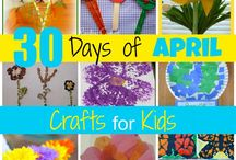 30 Days of April Crafts